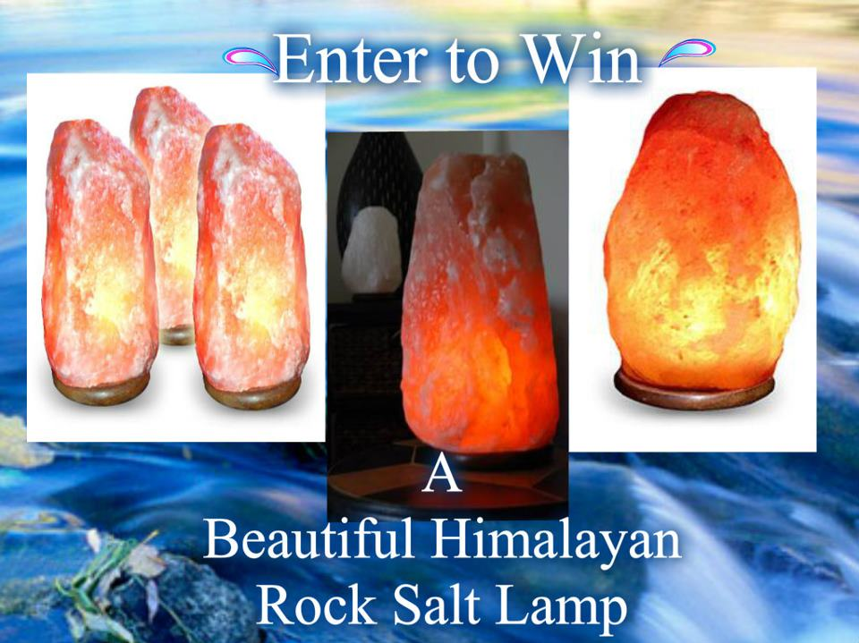 Himalayan Salt Lamps Georgia : Himalayan Salt Lamp Giveaway!