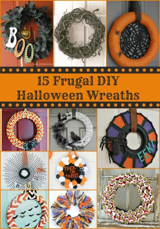 15 halloween wreaths
