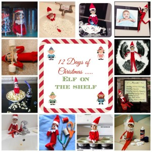 12 days of christmas elf on the shelf ideas couponing for Elf shelf craft show