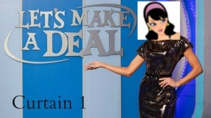 lets make a deal curtain cur 1
