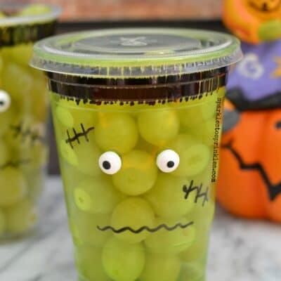 School Approved Frankenstein Halloween Treat