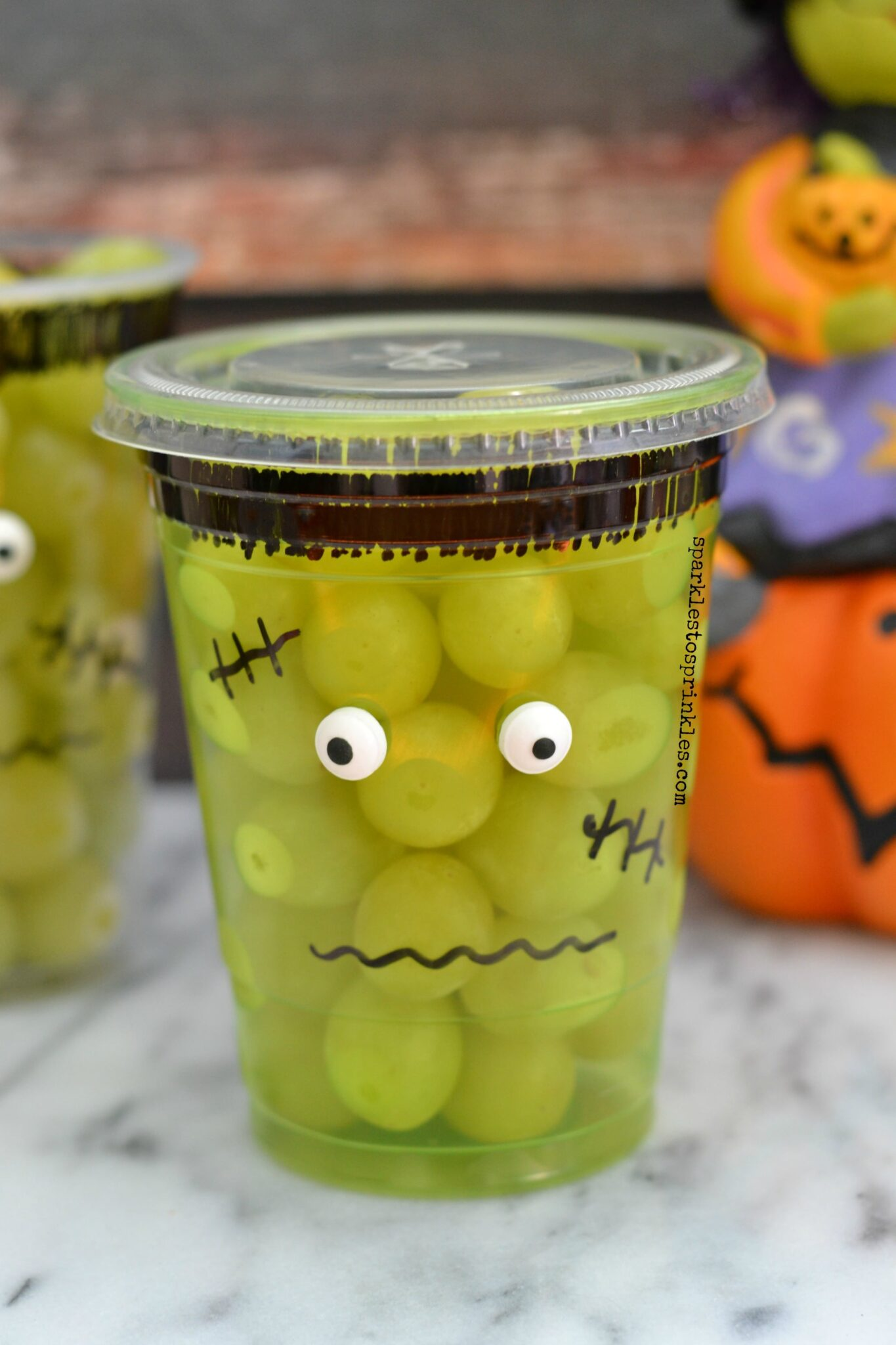 School Approved Frankenstein Halloween Treat
