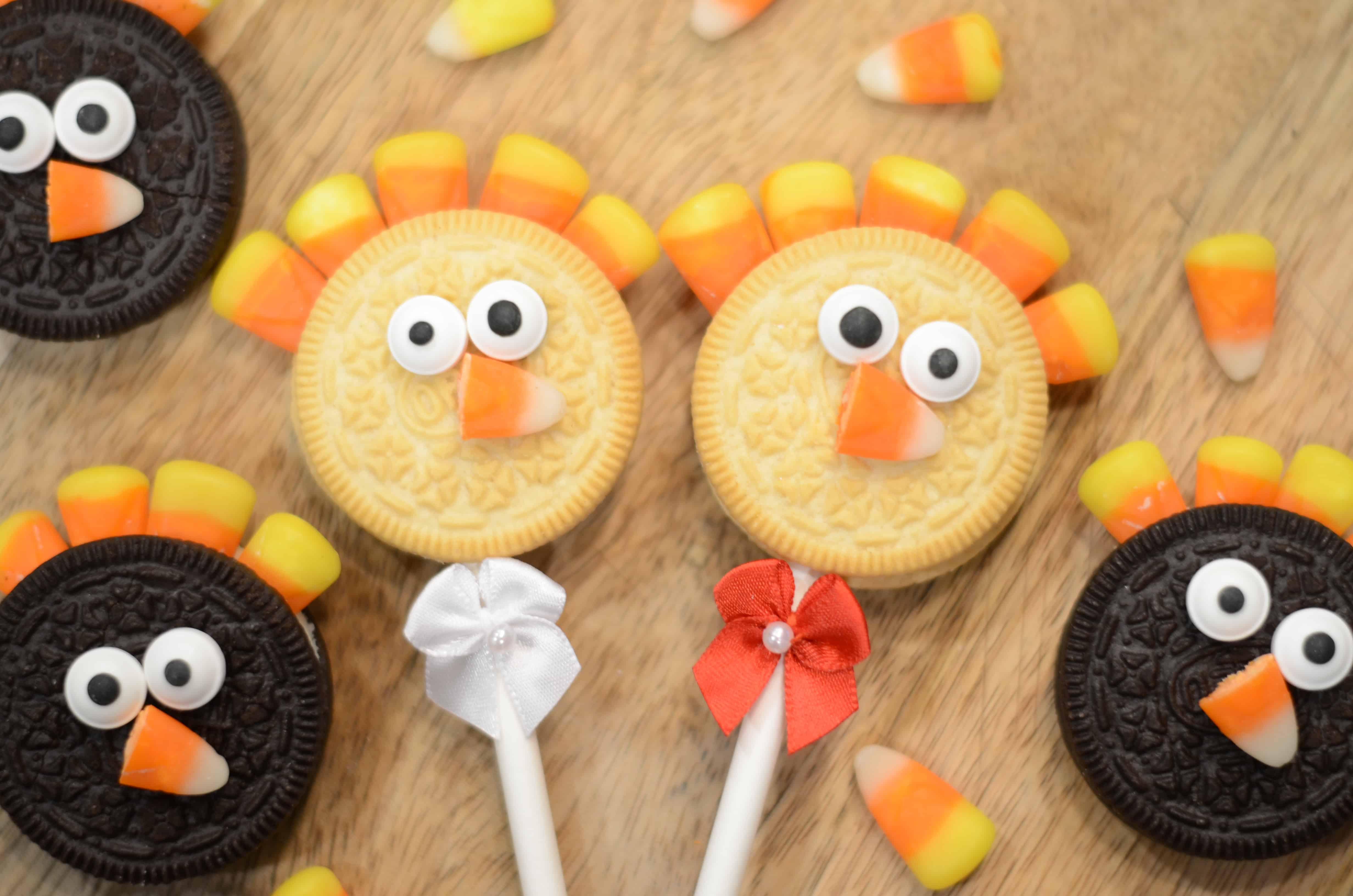 Turkey Oreo Pops