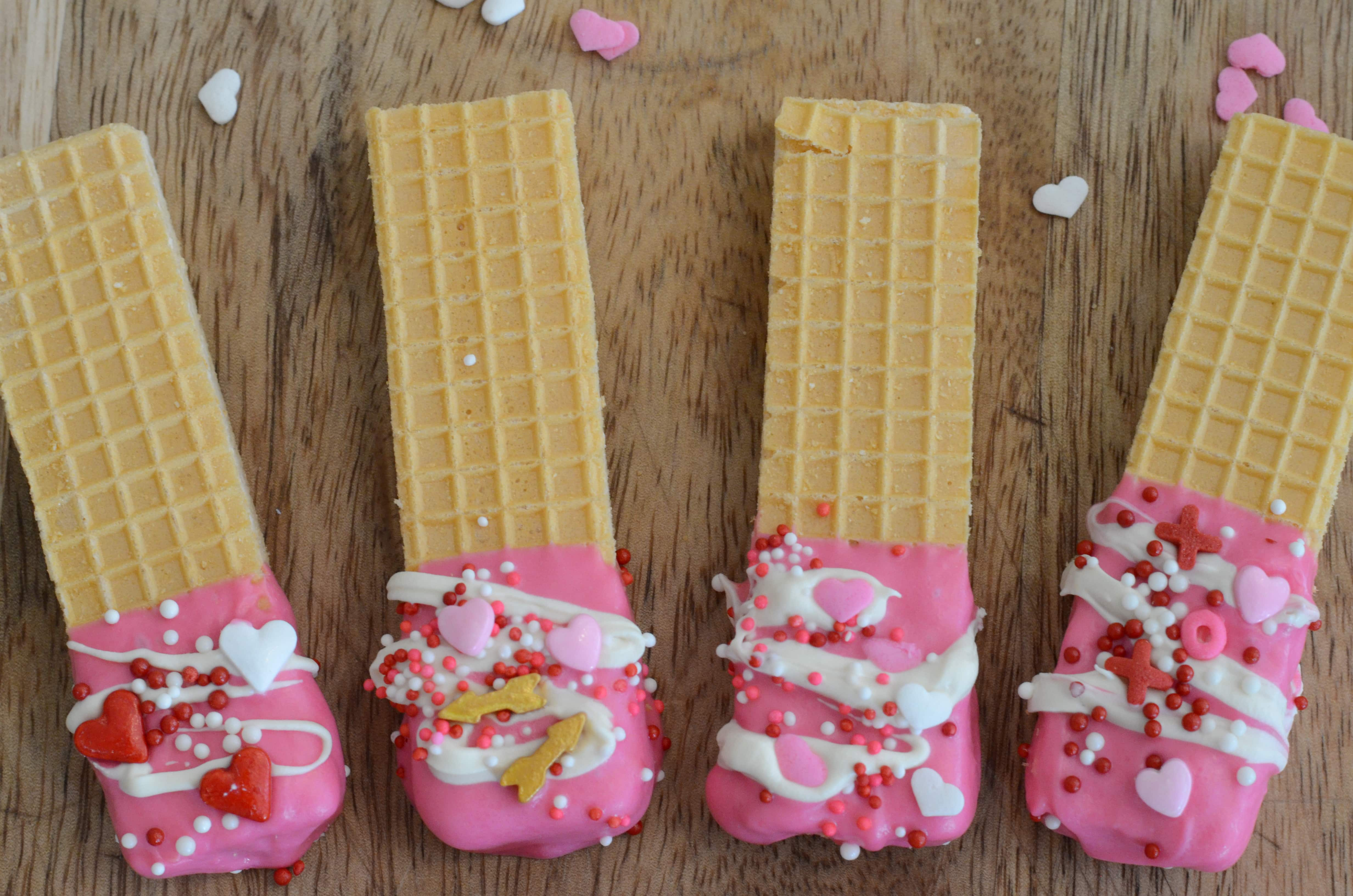 Love Dipped Wafers