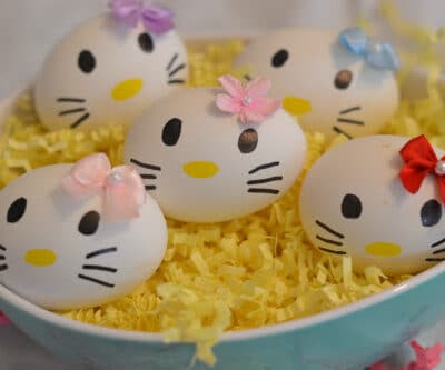 Hello Kitty Easter Eggs