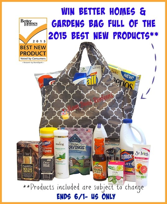better homes and garden prize bag giveaway sparkles to sprinkles. Interior Design Ideas. Home Design Ideas