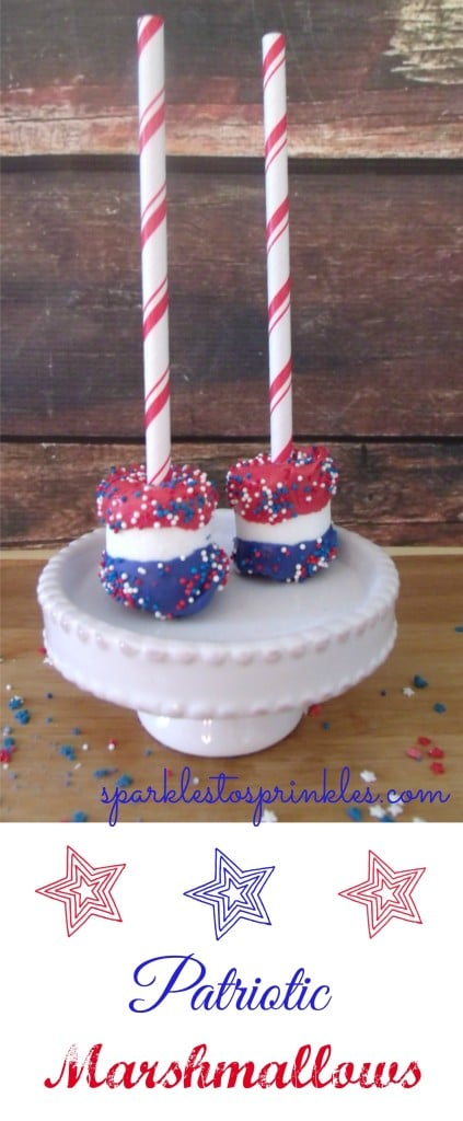 patriotic marshmallows