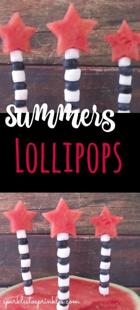 Summer's Lollipops