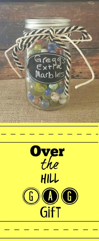 Over The Hill Extra Marbles Gag Gift Sparkles To Sprinkles