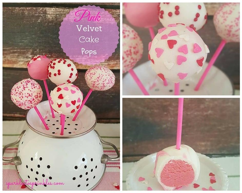 pink velvet pops