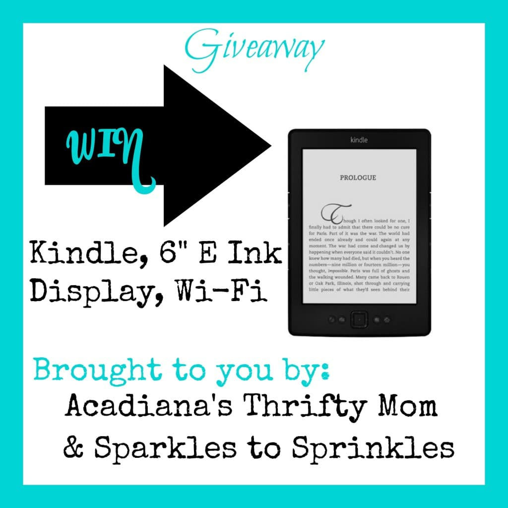 kindle syw giveaway
