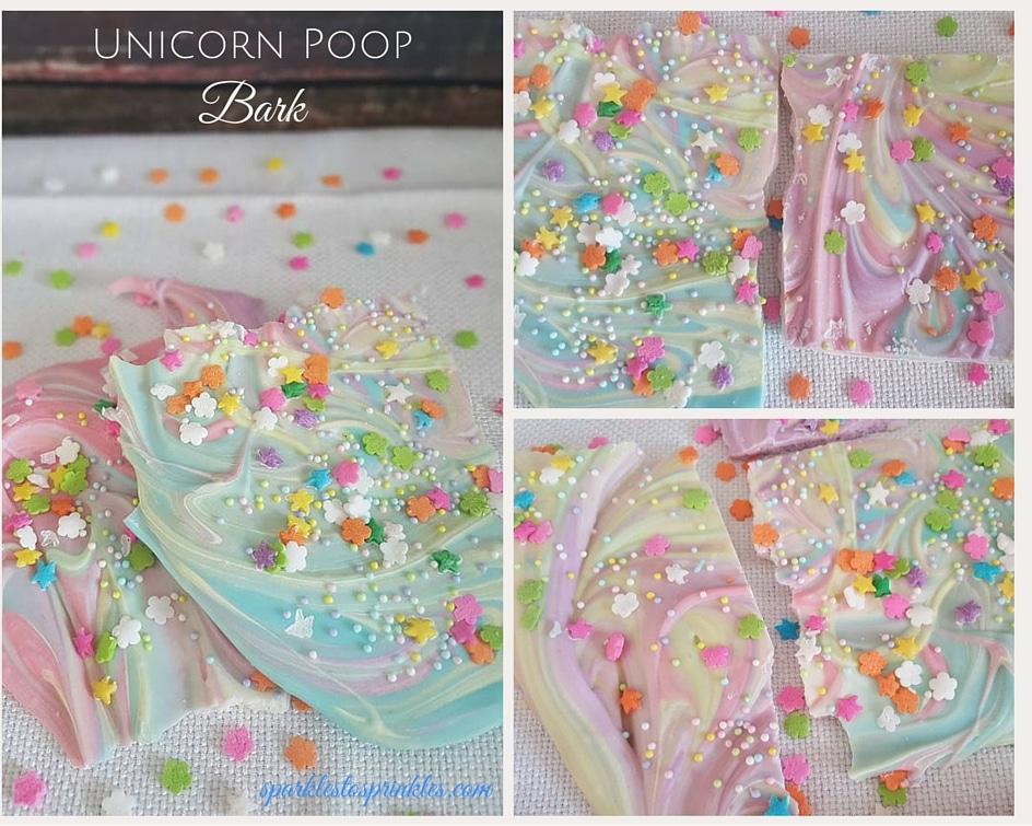 unicorn poop bark