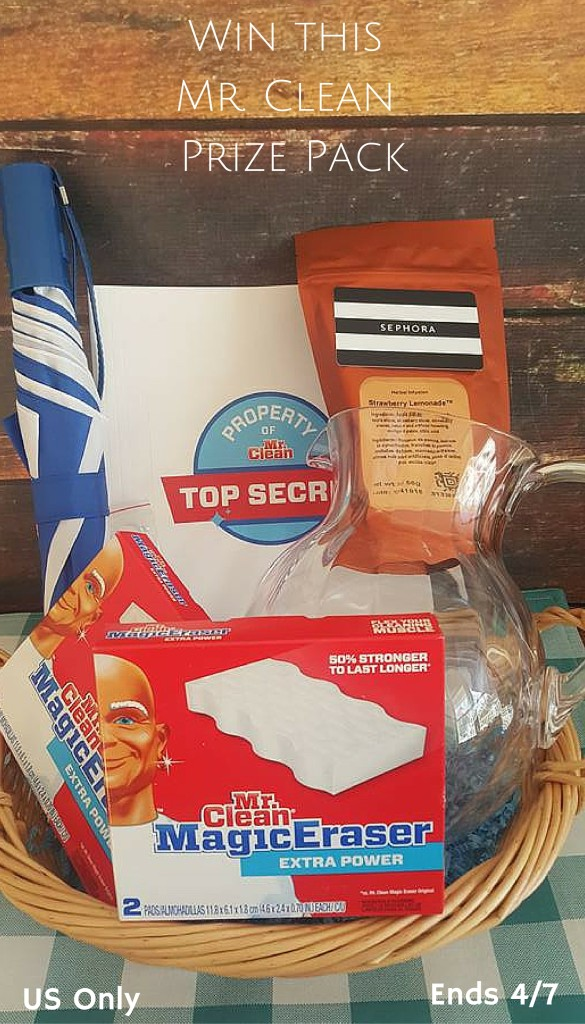 Win this Mr. Clean Prize Pack