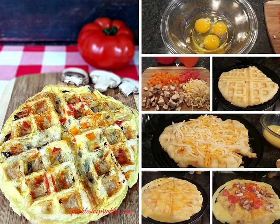 breakfast sandwich waffle (2)