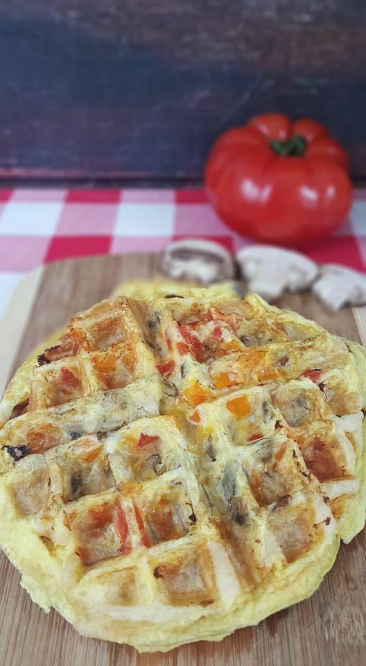 Breakfast Sandwich Waffle