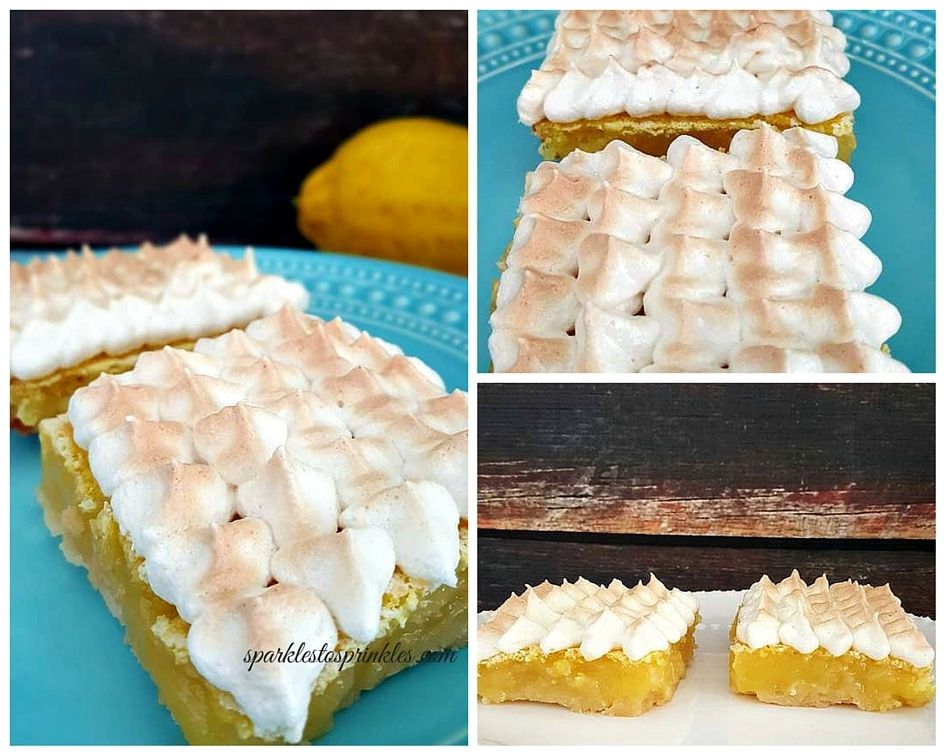 lemon meringue bars