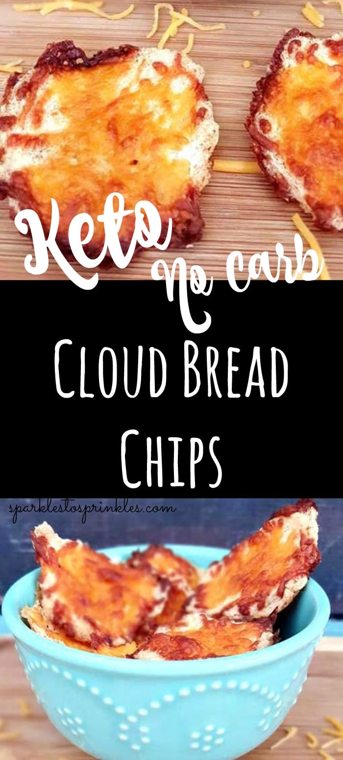 Cloud Bread Chips No Carb Sparkles To Sprinkles