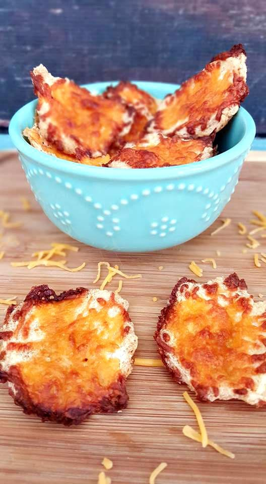 Cloud Bread Chips - No Carb