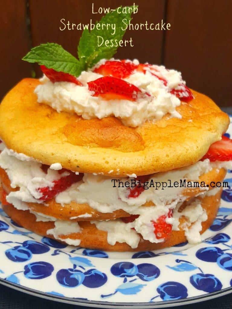 keto-strawberry-shortcake-dessert-on-cloud-bread