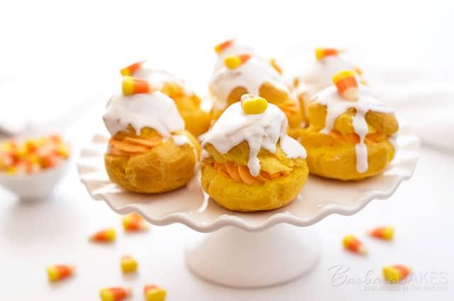 Candy-Corn-Cream-Puff-Barbara-Bakes