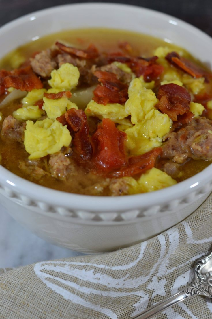Slow Cooker Breakfast Soup
