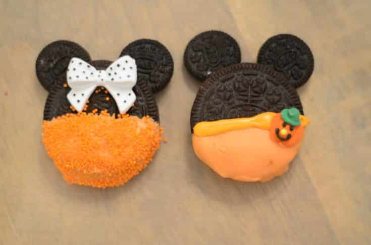 Mickey & Minnie Halloween Cookies
