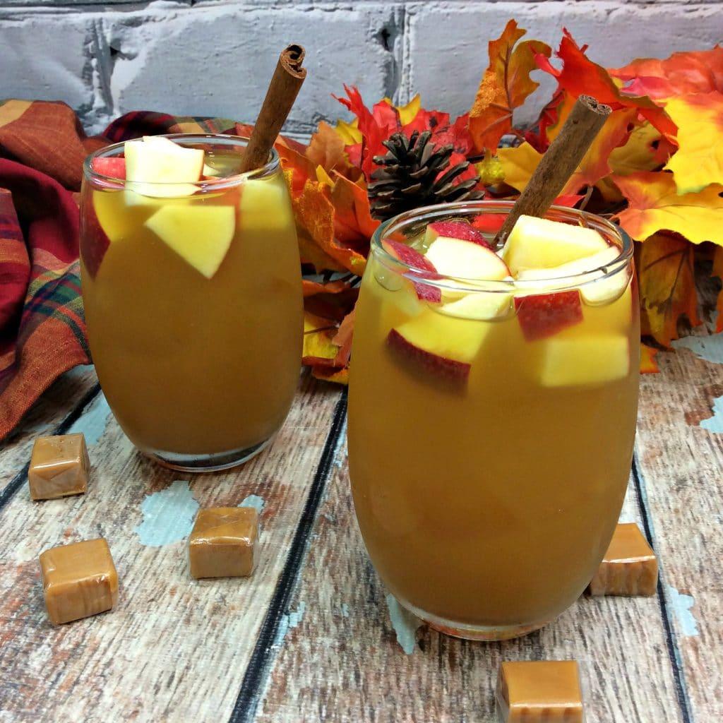 Caramel Apple Cider Sangria 3