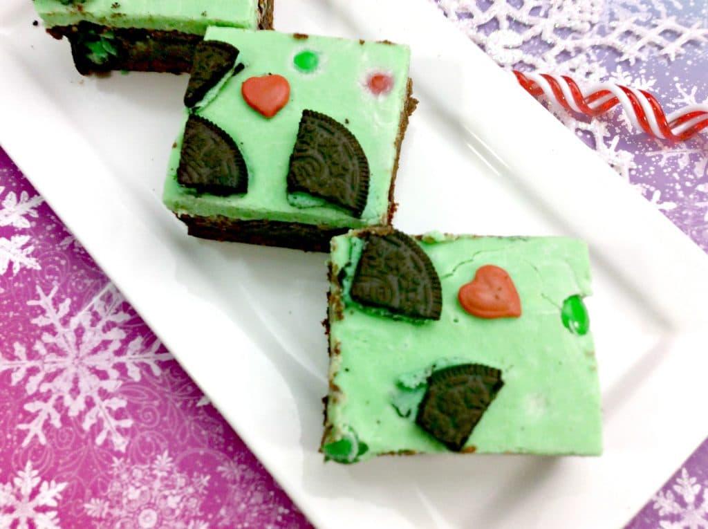 Grinch Brownies 1