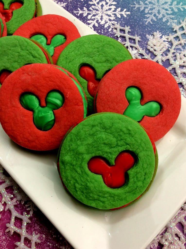 Mickey Sandwich Cookies 1