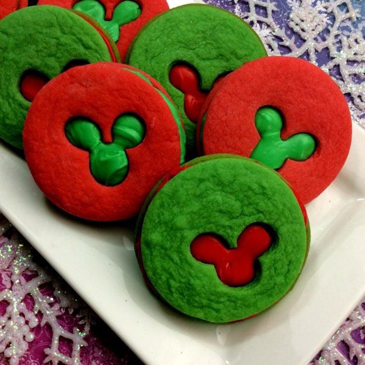 Mickey Sandwich Cookies