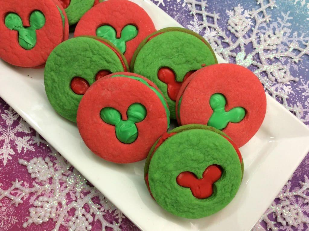 Mickey Sandwich Cookies 2