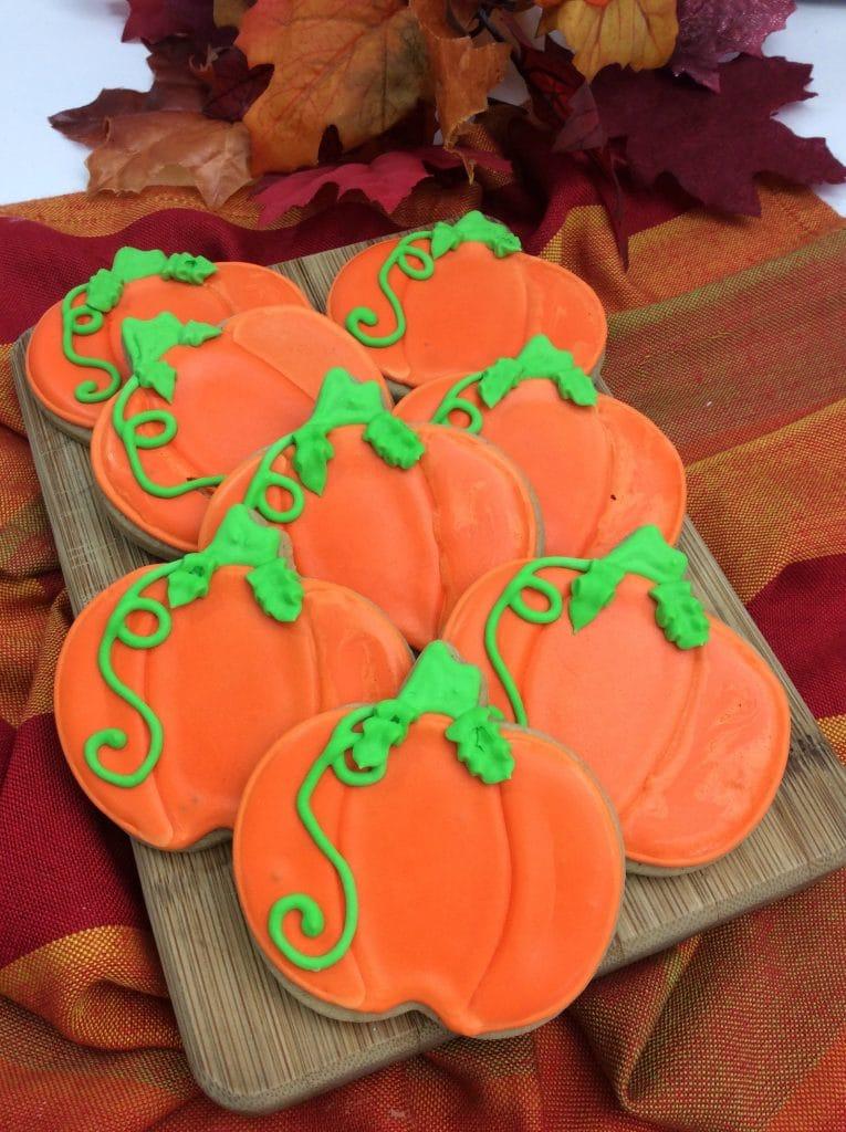 Pumpkin Spice Sugar Cookies 2