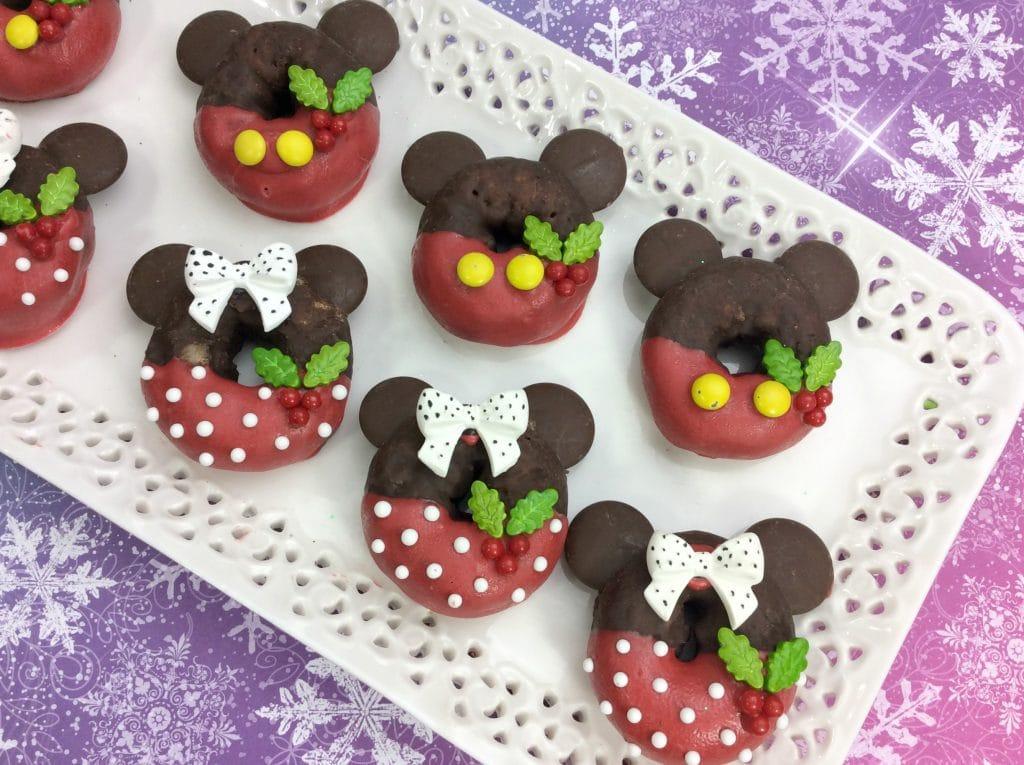Mickey And Minnie Doughnuts 3