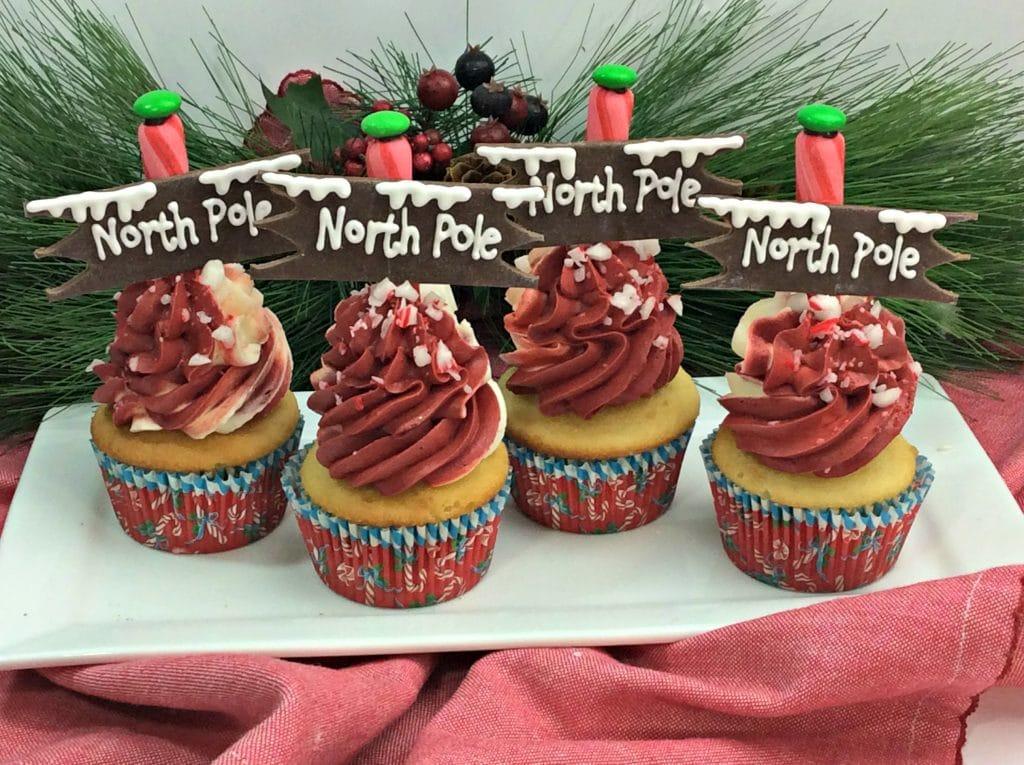 North Pole Cupcakes 1