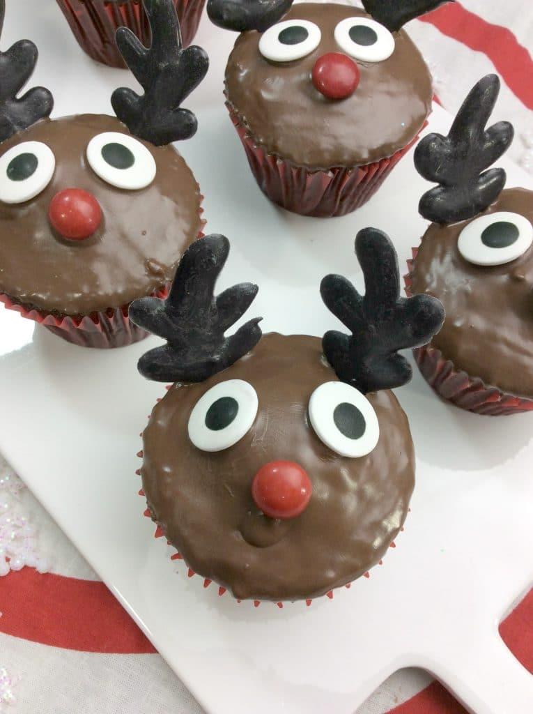Rudolph Cupcakes 4