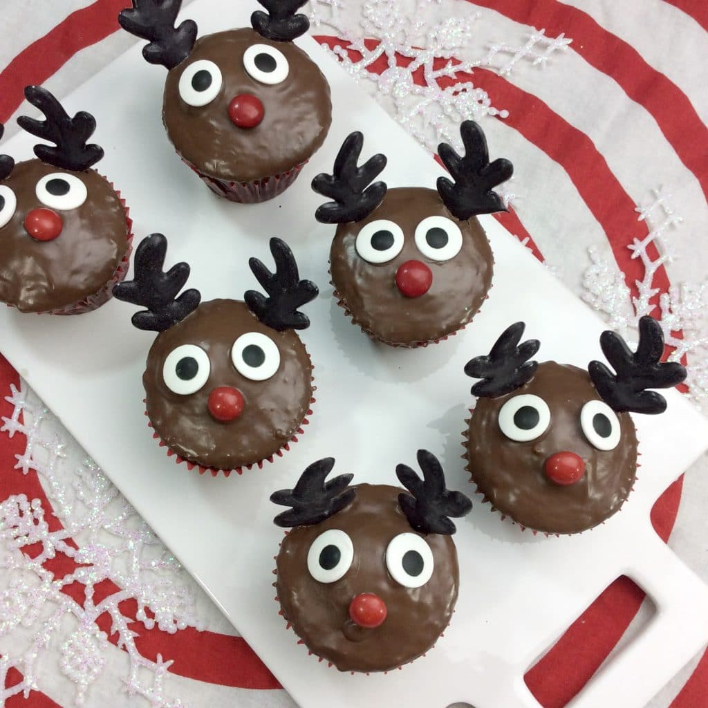 Rudolph Cupcakes 2