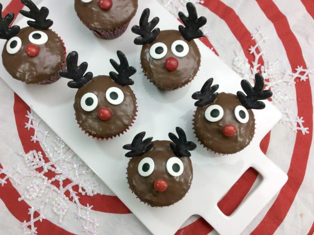 Rudolph Cupcakes 1