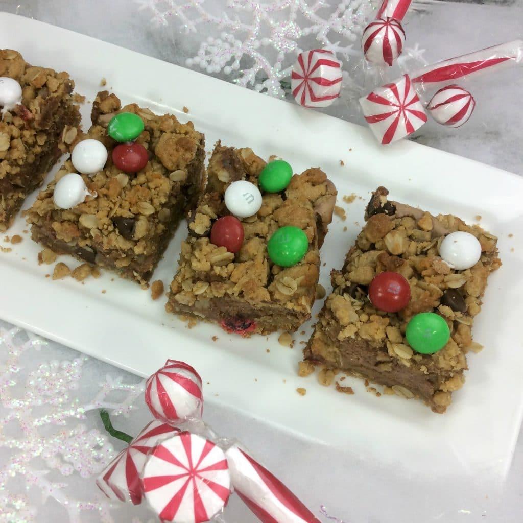 Monster Christmas Cookie Bars 1