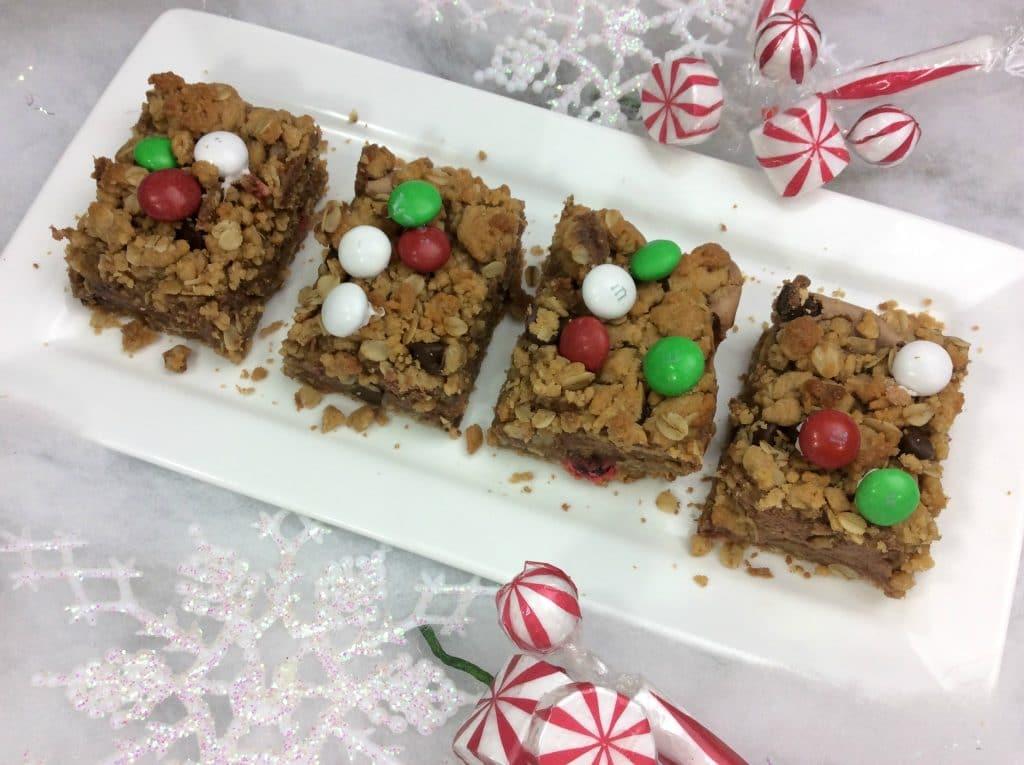 Monster Christmas Cookie Bars 3