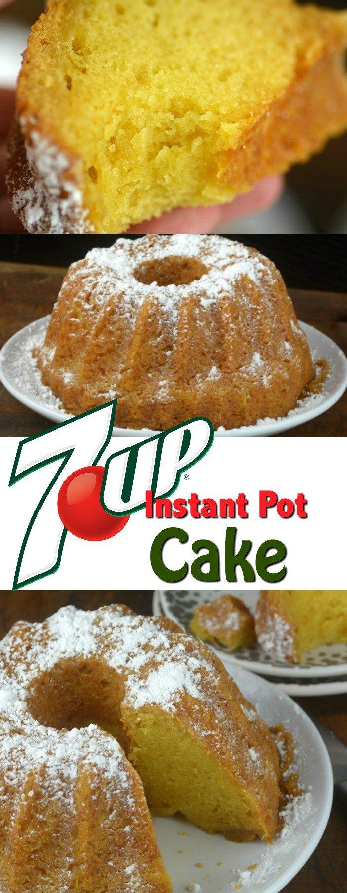 7 Up Instant Pot Bundt Cake Best Recipe Quick