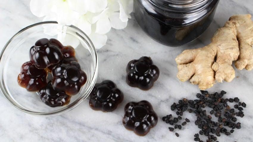 Instant Pot Elderberry Gummies Recipe