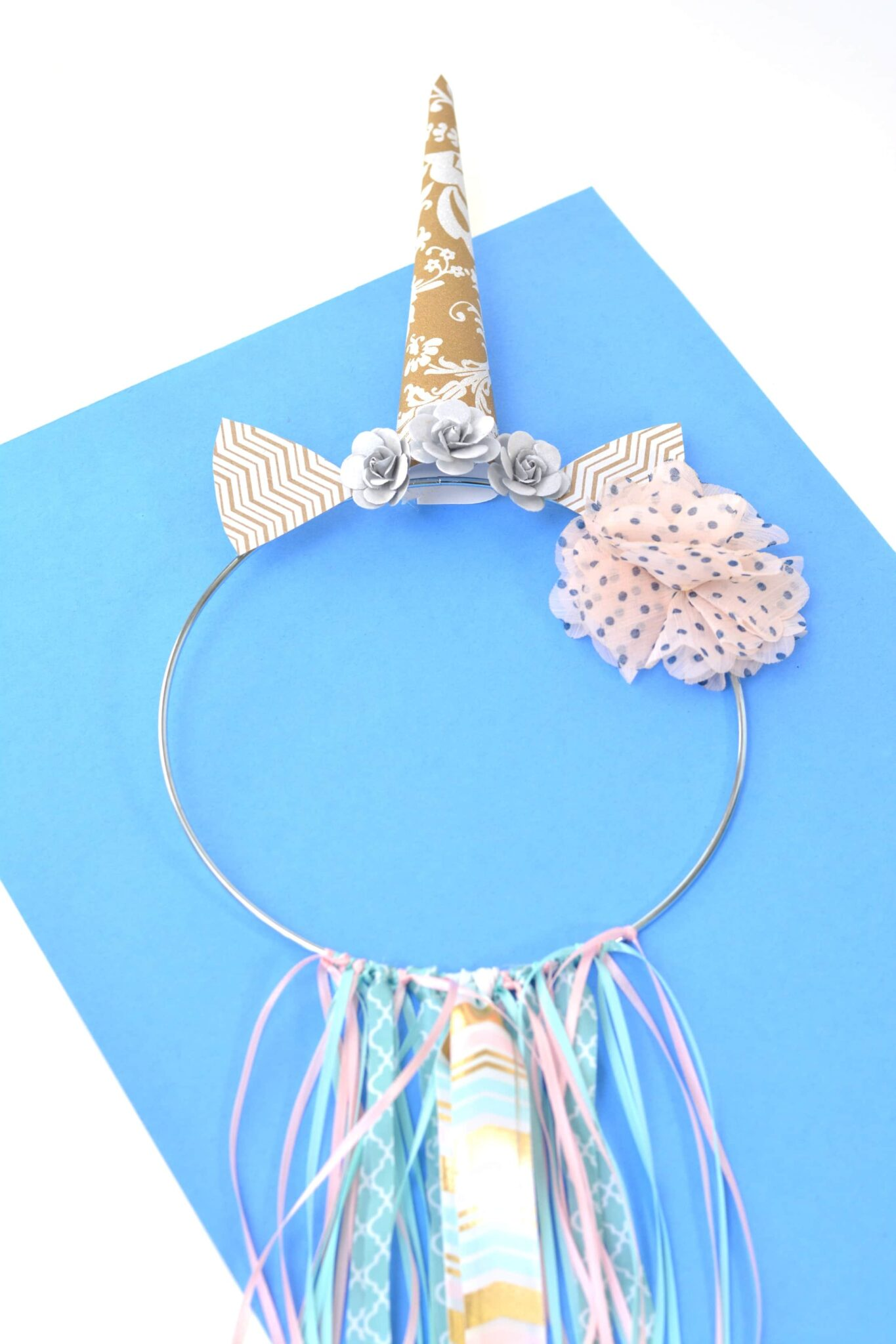 Unicorn Ribbon Wall Ring Craft
