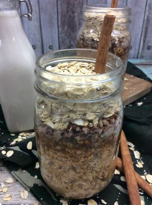 Maple Overnight Oats 1-2