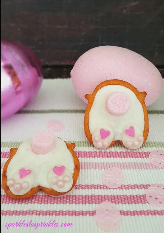 Bunny Butt Pretzels