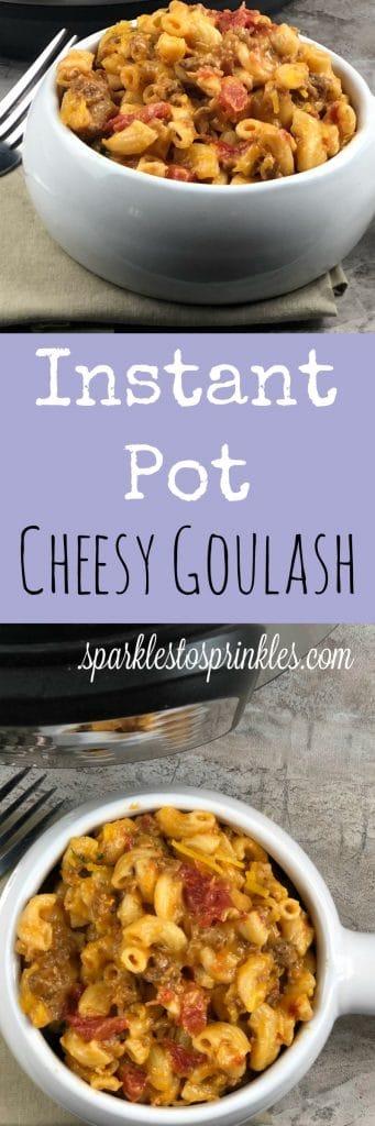cheesy goulash