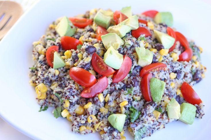 Instant Pot Southwestern Quinoa Black Bean Salad
