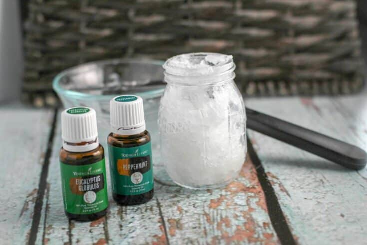 Homemade Vicks Rub with Essential Oils Using only 3 Ingredients