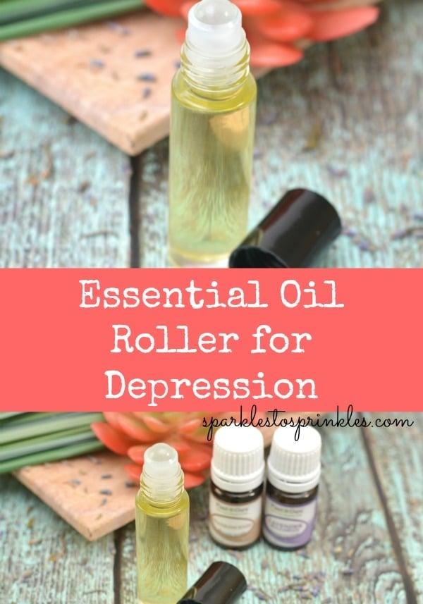 Essential Oil Roller for Depression