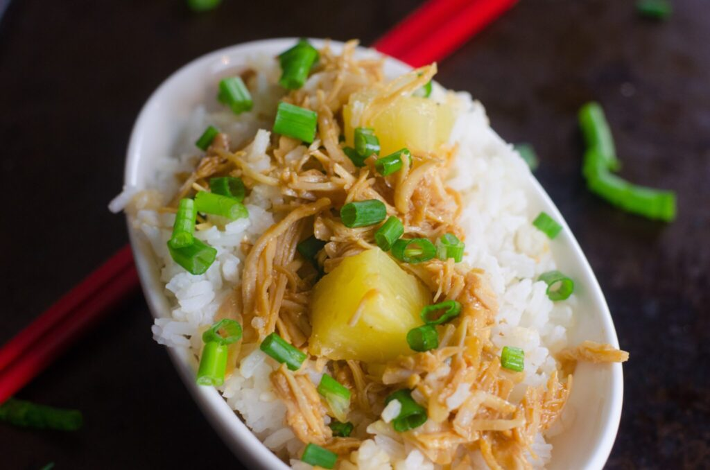 instant pot huli huli hawaiian chicken