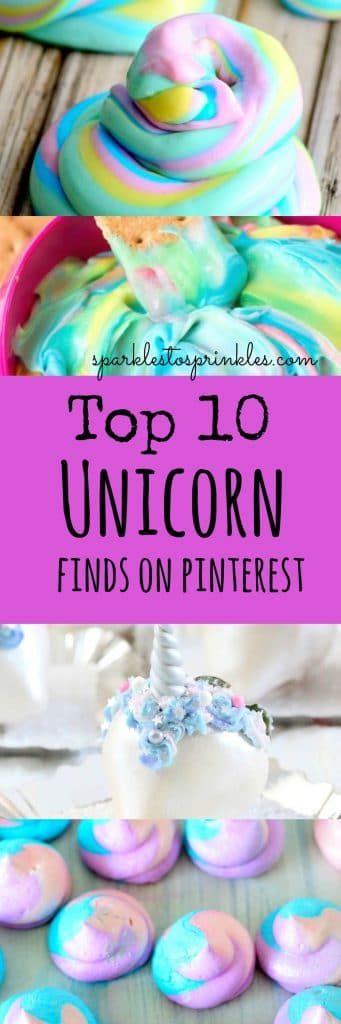 Top 10 Unicorn finds on Pinterest